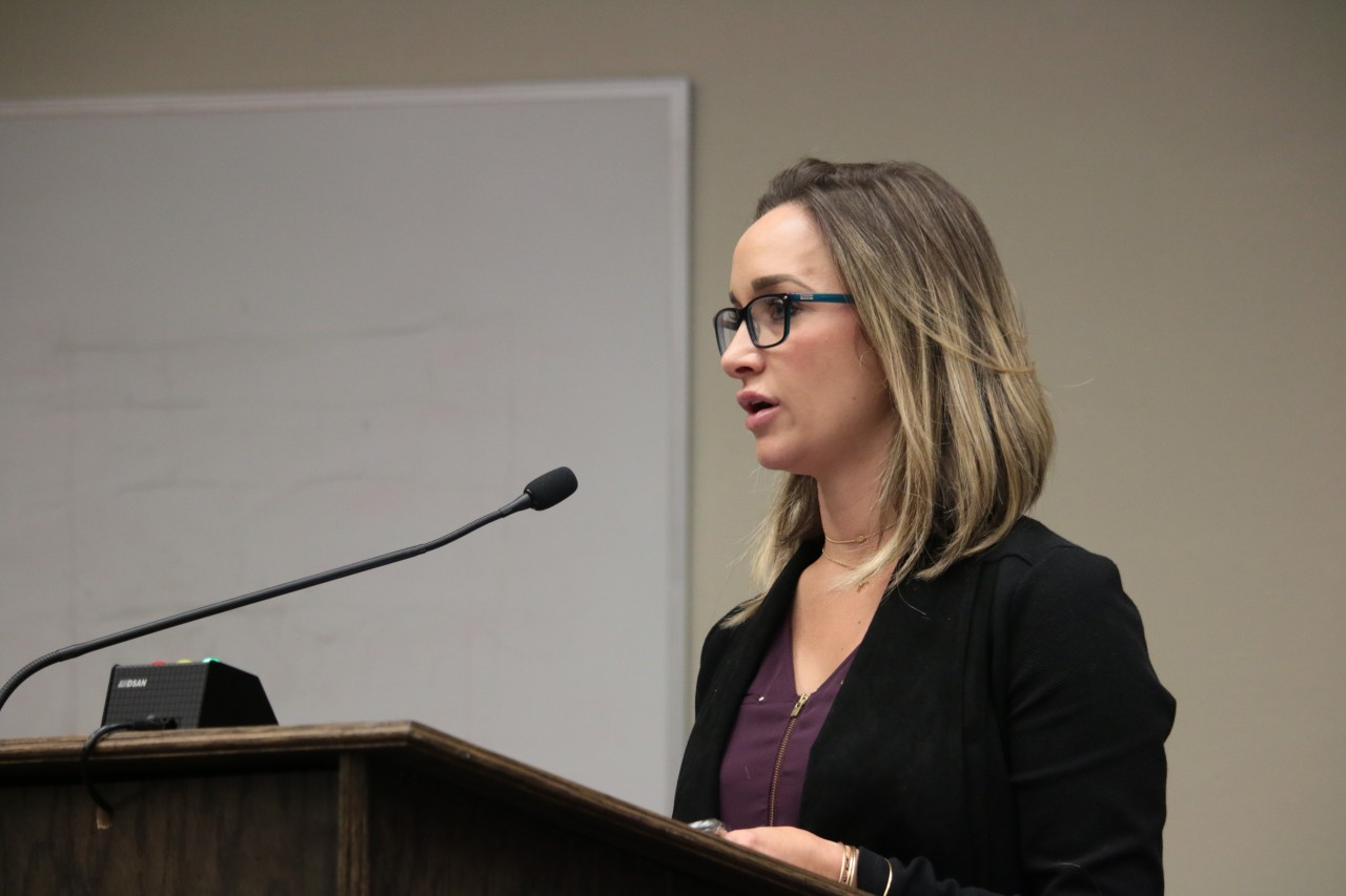 Carly Jo Brigantino said the mayor was delaying the process for economic and personal reasons.