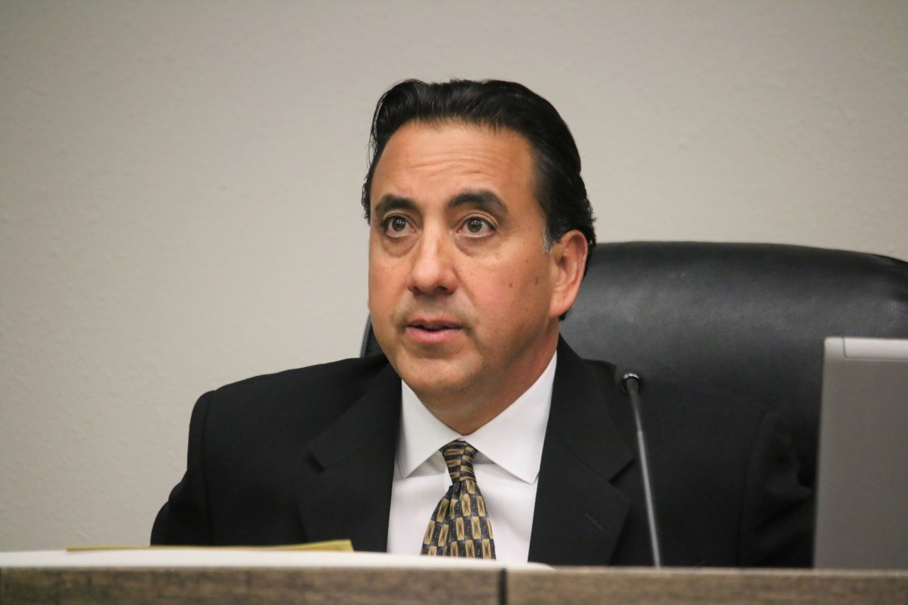 Mayor Ignacio Velazquez said he did not appreciate someone insinuating that he was a liar. Photo by John Chadwell.