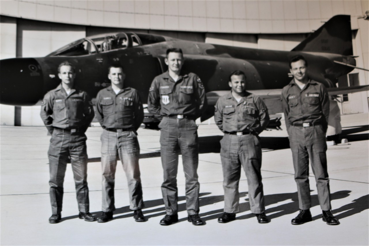 Soileau, second from right, served in Thailand for a little over a year and is the latest of over 300,000 vets to die from Agent Orange exposure.
