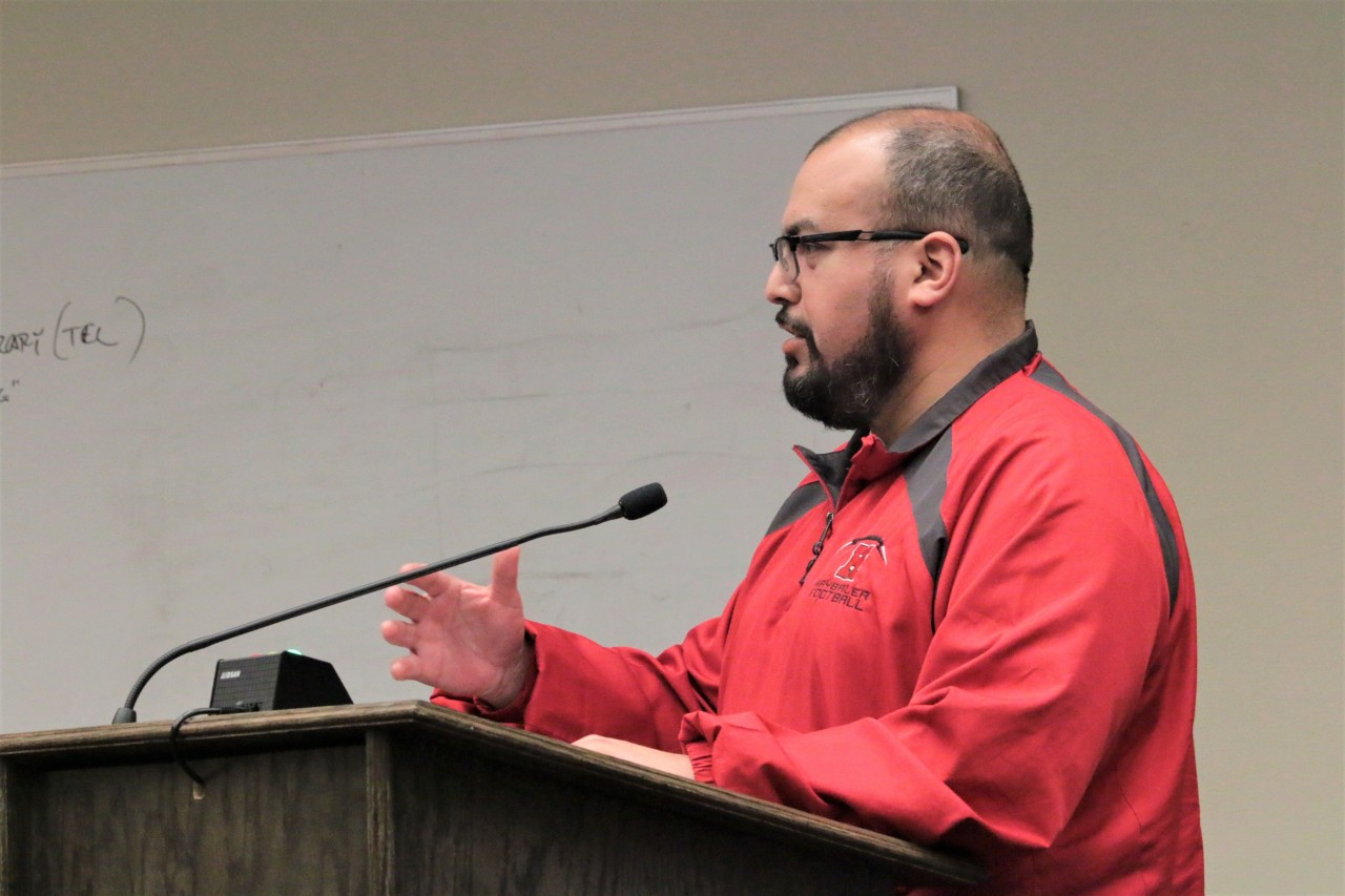 Salvador Mora said Velazquez and Resendiz accused staff without proof. Photo by John Chadwell.