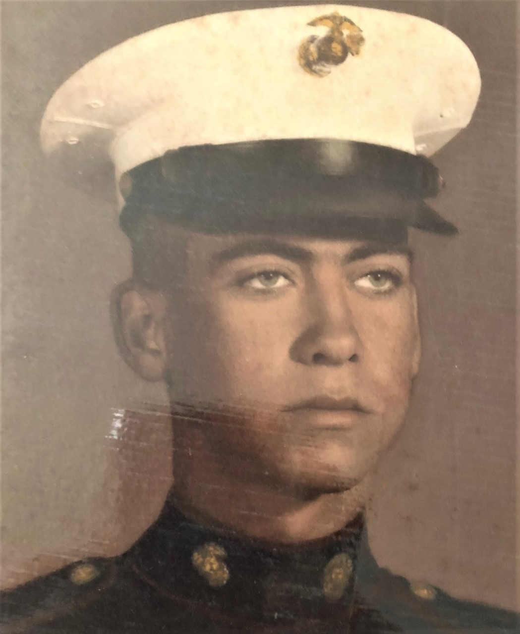 Dennis Demoralas, Stevenson's uncle, graduated from San Benito High School in 1969 and went into the Marines to serve one tour in Vietnam. Stevenson says he suffered from PTSD and possibly died of cancer due to exposure to Agent Orange. Photo courtesy of Shari Stevenson.