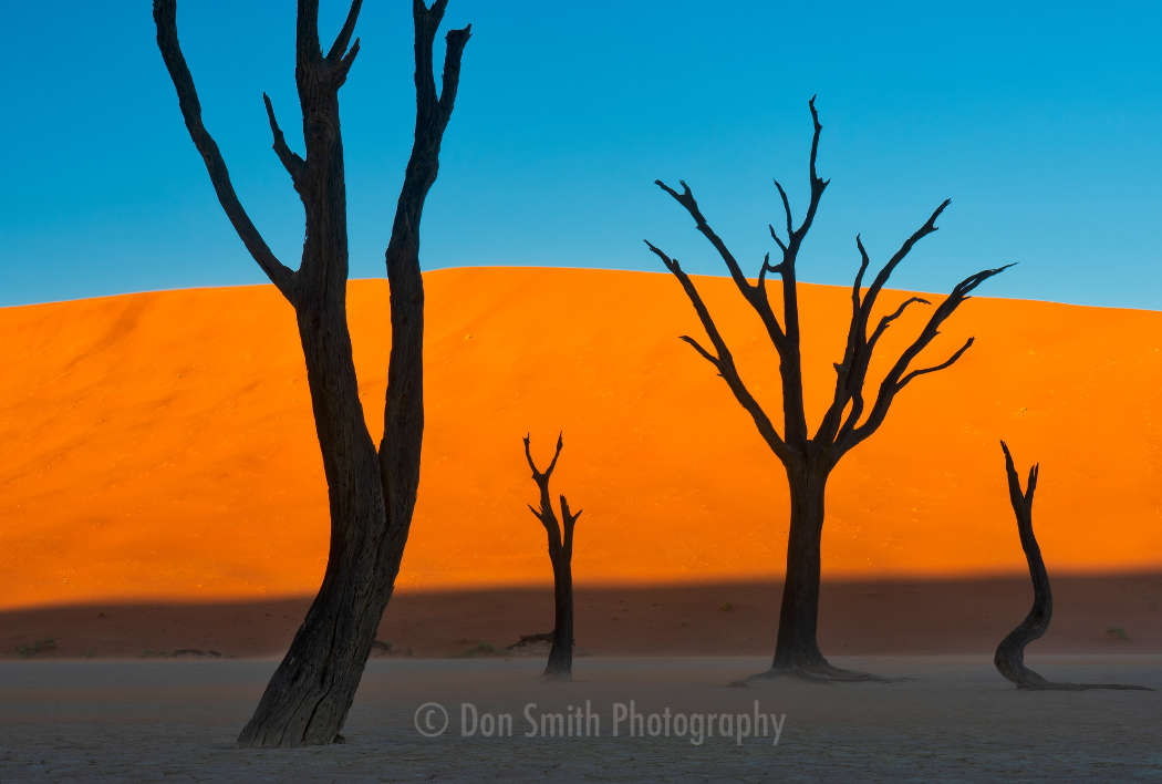 Namibia in Africa is one of many locations Smith has photographed.