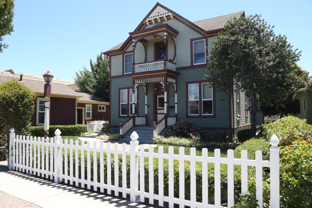 The Sun Street Centers house on Sixth Street in Hollister. File photo.