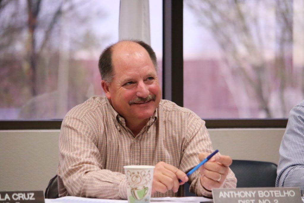 Supervisor Anthony Botelho at a 2017 board retreat. Photo by John Chadwell.