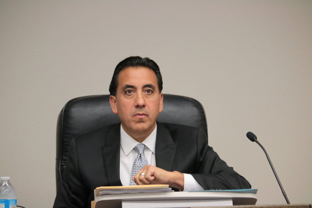 Mayor Ignacio Velazquez said he may possibly sue because of the council's decision against his appeal. Photos by John Chadwell.