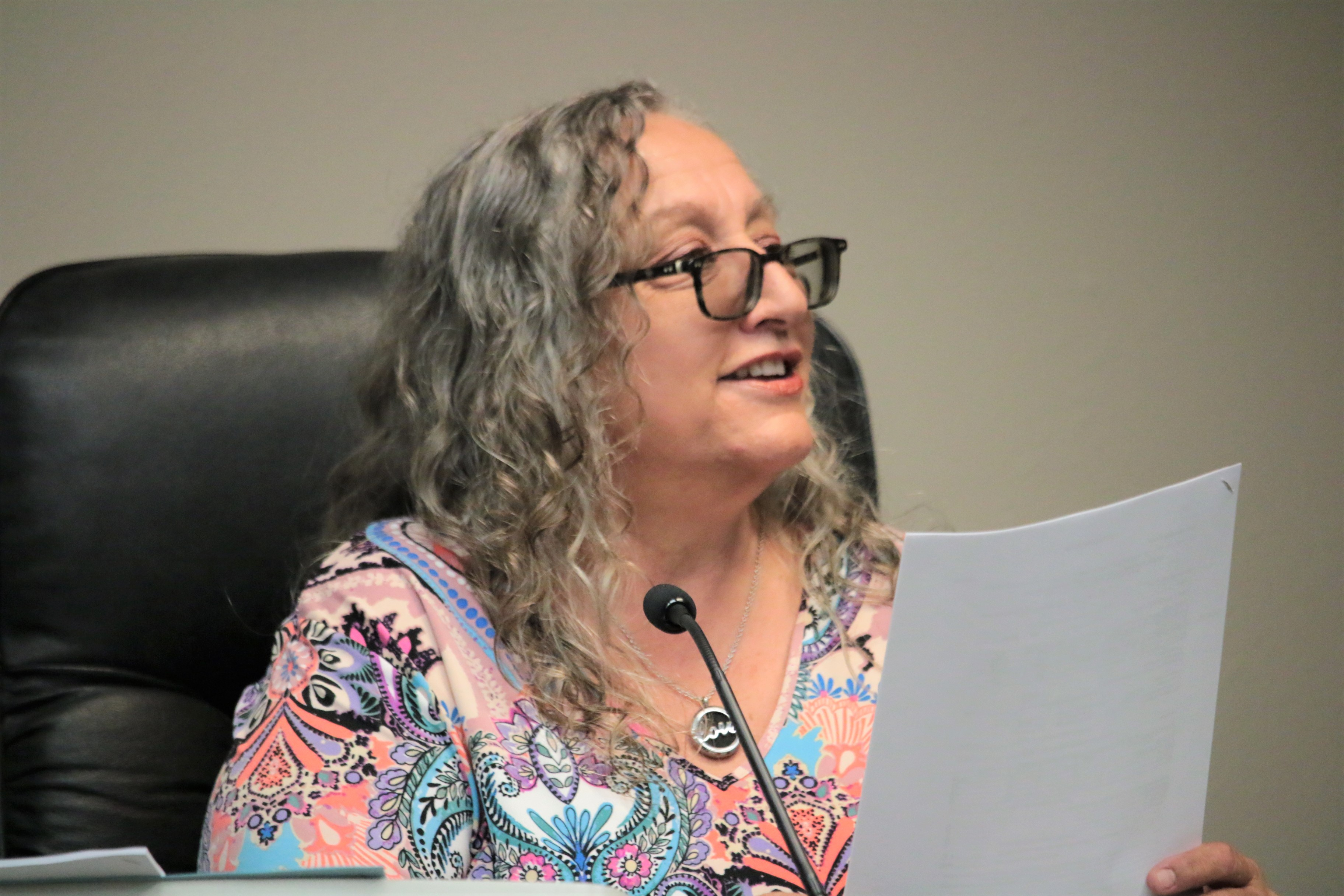 Councilwoman Carol Lenoir said because of her many years in planning she approved of the 400 Block project.