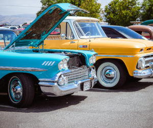 Vehicles on display at the Father's Day Car Show in 2019. Photos by Heather Graham.