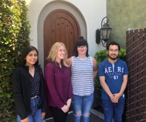 2019 BenitoLink Interns Pictured from left to right: Diana Lopez, Melissa Melton, Heather Graham and Francisco Romero. Not Pictured Fernando Gonzalez