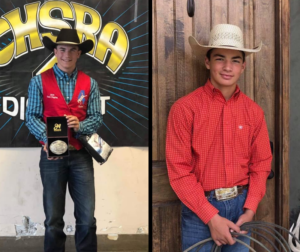 Kohen Nelson (left) and Billy Aviles (right) will compete at the NJHFR in Huron, South Dakota. Photo courtesy of Dana Aviles.