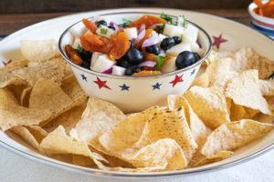 B&R Farms has a recipe for a blueberry, jicama, apricot salsa that can also be a salad if larger slices are cut. Photo courtesy of B&R Farms.