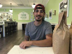 Calavera Coffee founder Evan Morris. Photo by Leslie David.