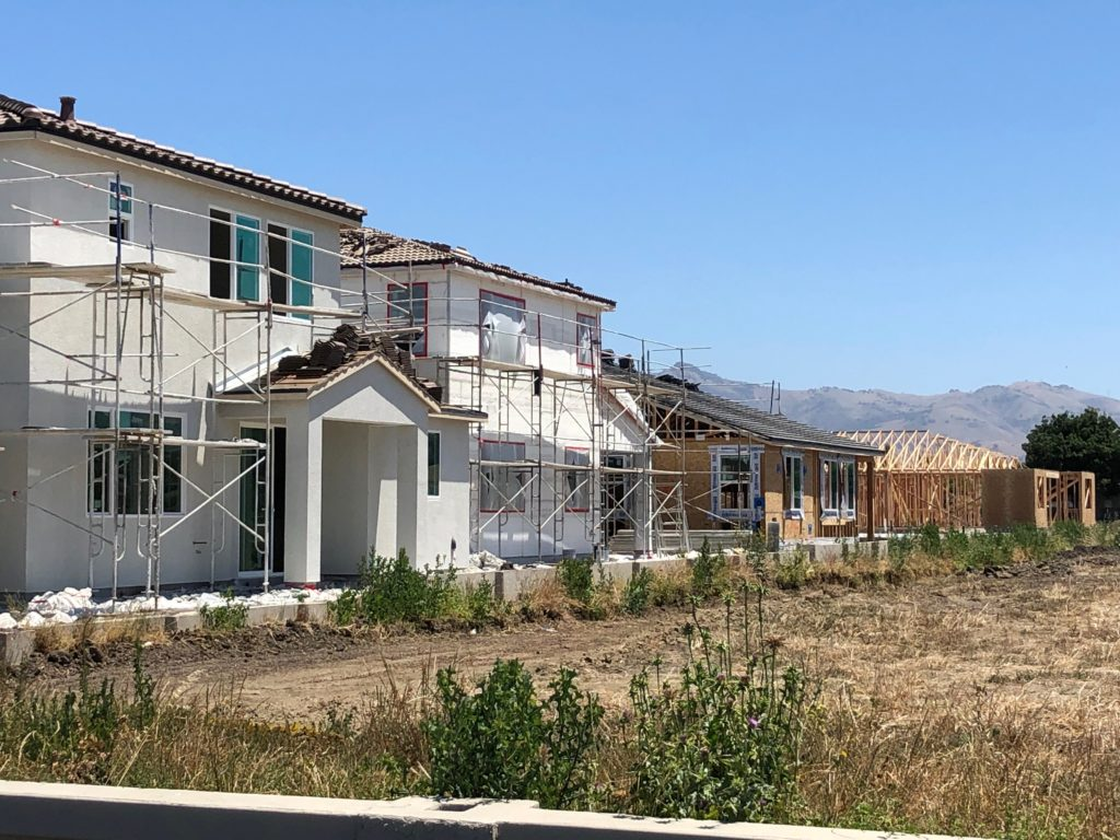 Housing being constructed in Hollister. File photo by John Chadwell.