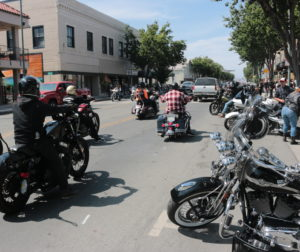An estimated 14,000 bikers came to town for the 2019 rally. Photo by John Chadwell.