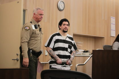 Jose Antonio Barajas faces a charge of first-degree murder, three counts of attempted murder, and two counts of kidnapping and false imprisonment in relation to his alleged killing of 19-year-old Ariana Zendejas on Aug. 1, 2014. Photo by John Chadwell.