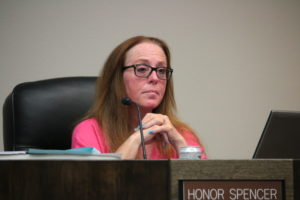 Councilwoman Honor Spencer said she hopes the mayor does not sue over the 400 block. Photo by John Chadwell.