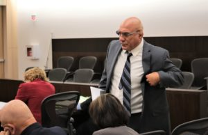Judge Sanders appointed public defender Arthur Cantu to take over defense of Ji after Greg LaForge stepped down. Photo by John Chadwell.
