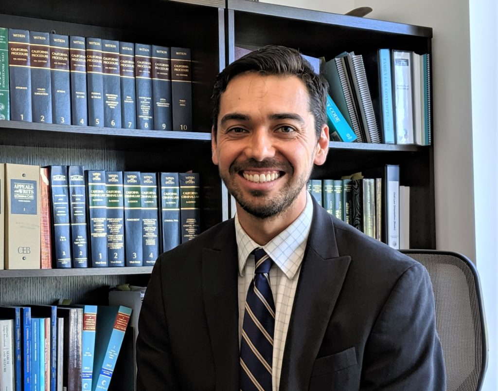 Judge Omar Rodriguez was elected in November 2018 to replace Judge Harry Tobias as one of two judges at San Benito County Superior Court. Photo by Becky Bonner.