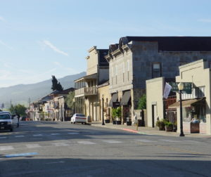Downtown San Juan Bautista. Photo provided by Wanda Guibert and taken by Heidi Balz.