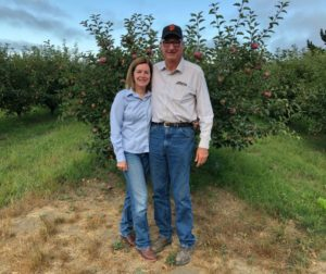 Katherine and Phil Foster, owners of Phil Foster Ranch (Pinnacle Organically Grown). Photo provided by SBALT.