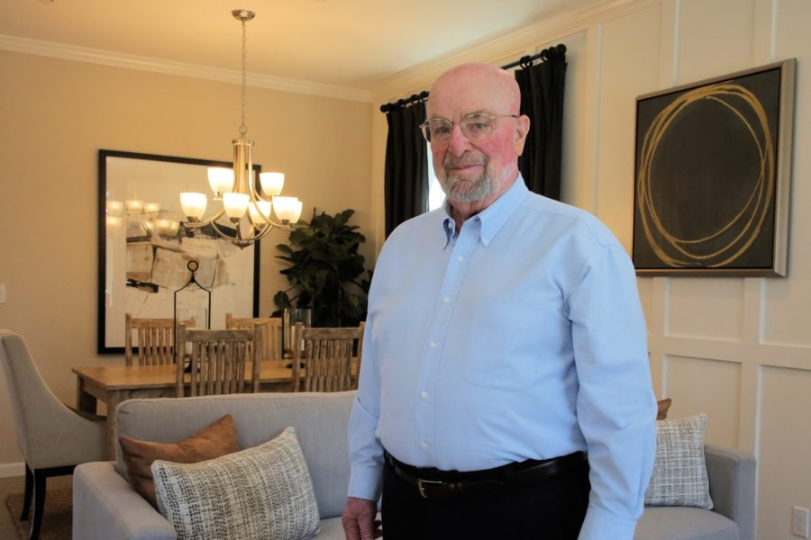 Hugh Bikle, president of Stone Bridge Homes. Photo by Robert Eliason.