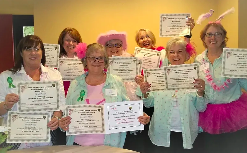 Women's Club of Hollister members. Photo provided.