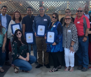 CASA of San Benito honoring volunteers at a recent gathering. Photos courtesy of CASA.