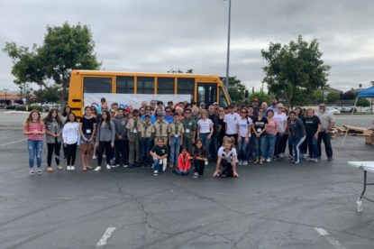 Stuff the Bus, put on by United Way of San Benito County. File Photo.