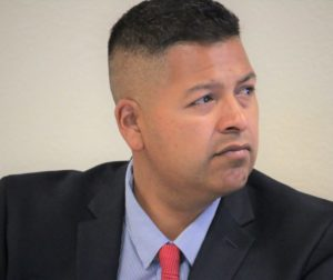 File photo of Hollister School District Superintendent Diego Ochoa. Photo by John Chadwell.