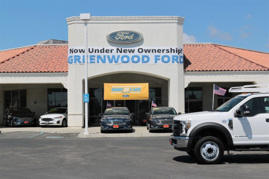 Greenwood Ford off San Felipe Road in Hollister. The dealership was previously Tiffany Ford, owned and operated by four generations of the Tiffany Family. Photo by John Chadwell.