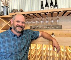 Mike Waller is the winemaker at Calera. Photos by Becky Bonner.