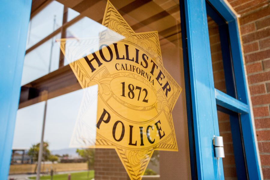 Hollister Police Department. File photo by Joshua Miller.