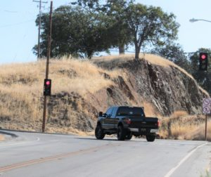 Caltrans attempted to deal with the South County curve on Highway 25 in 2015, but the rerouted portion of the road collapsed just a few months after opening. Now, repairs aren't expected to happen until at least 2022. Photo by John Chadwell.