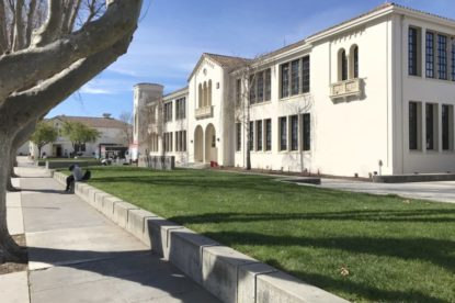 San Benito High School main administration building. File photo.