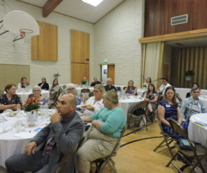 Around 50 people showed up to the leadership luncheon on Sept. 12. Photos by Patty Lopez Day.