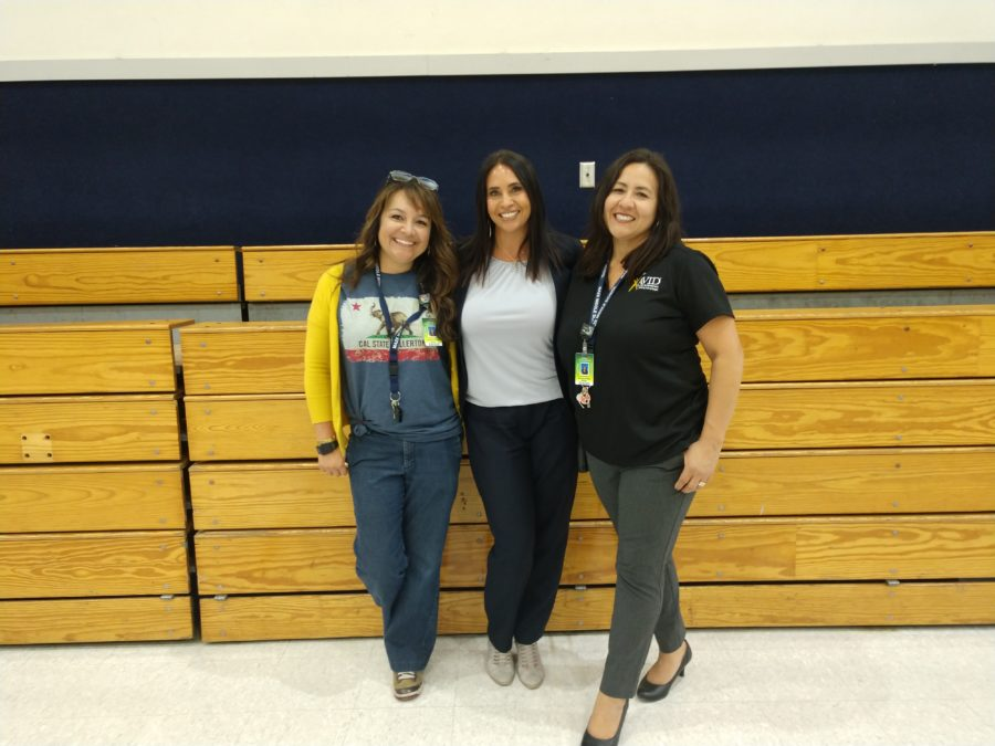 Assistant Principal Emma Veltri, Principal Diana Herbst, and Assistant Principal Anissa Dizon.