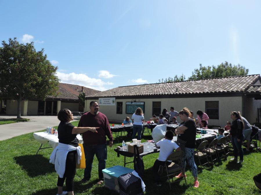 Councilman Rolan Resendiz attended the community-building event.