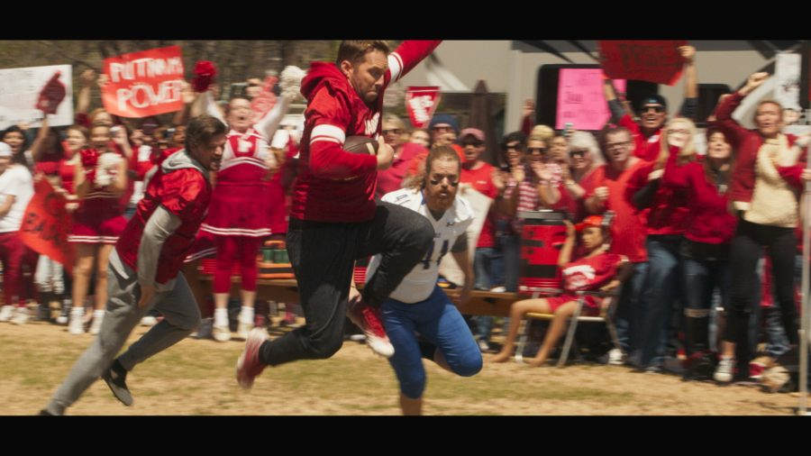 Football scene from The Turkey Bowl. Lionsgate photo.