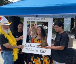 Malia Chang was crowned the Chicken Festival Queen as SJB celebrated its 150th year. Photo courtesy of Malia Chang.