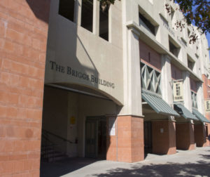 The Briggs Building in downtown Hollister, where Gavilan College offers courses. Photo by Noe Magaña.