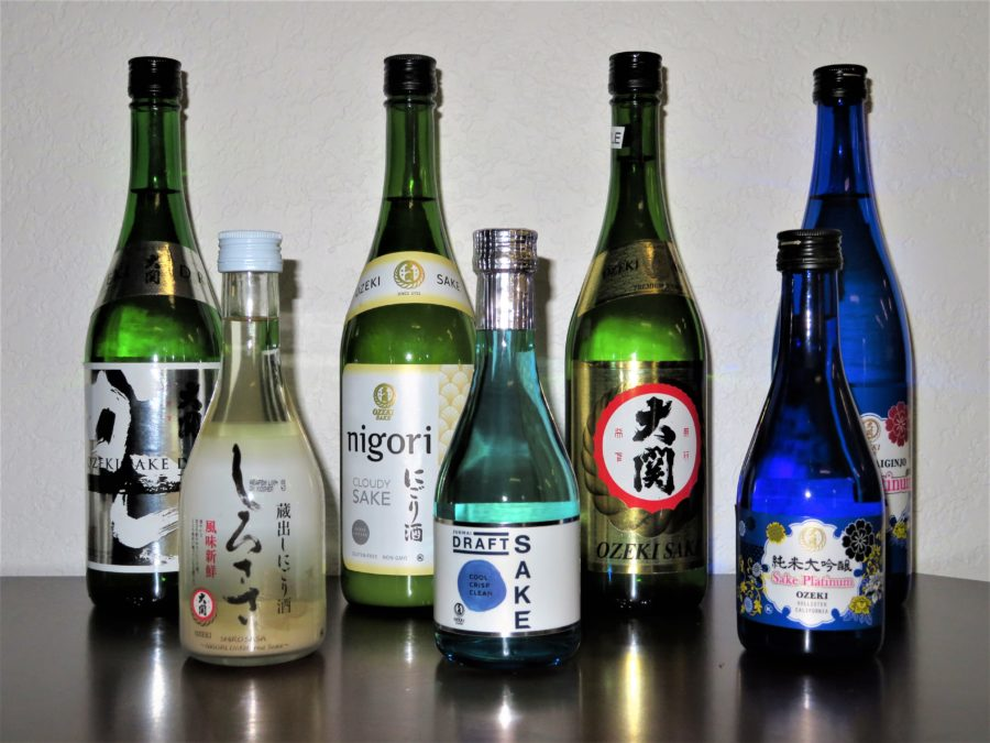 Ozeki Sake USA Inc. produces roughly 1.5 million gallons of sake a year.