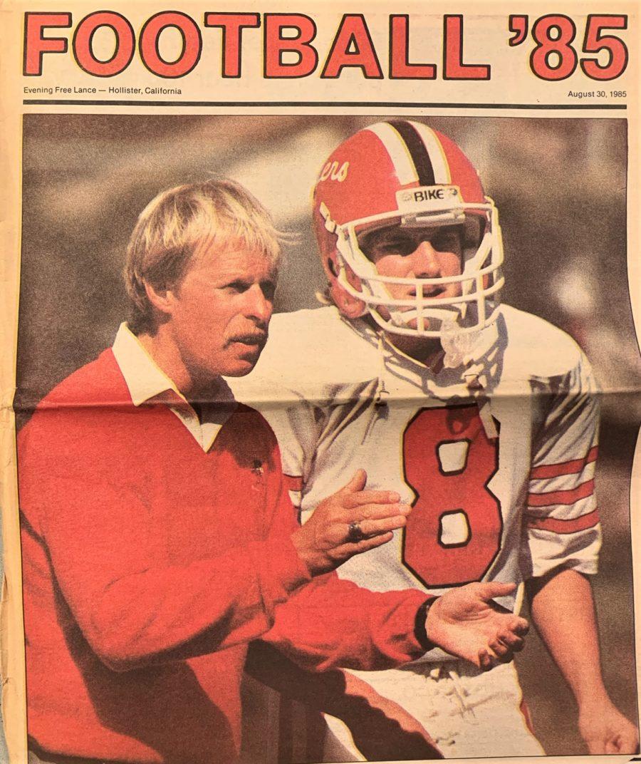 Kip Ward and Coach Carey Laine. Kirk Ward photo.
