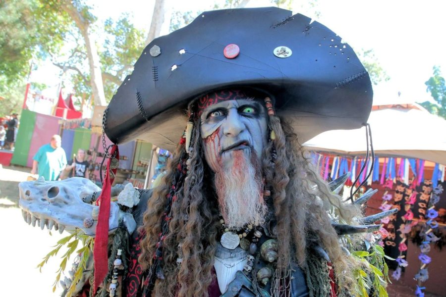 Killer Kent at Pirate Invasion weekend at the Northern California Renaissance Faire. Photos by Robert Eliason.