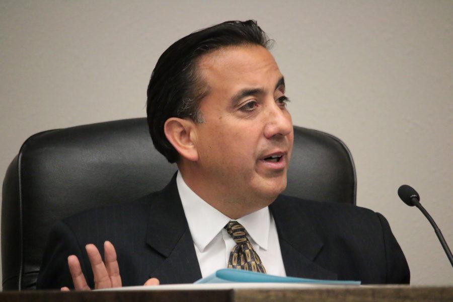 Mayor Ignacio Velazquez. Photo by John Chadwell.