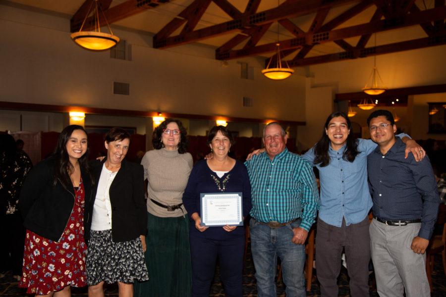 Laura Romero, Carmel de Bertaut, Leslie David, Shana Strohn, Gene Strohn, Nicholas Preciado and Noe Magaña.