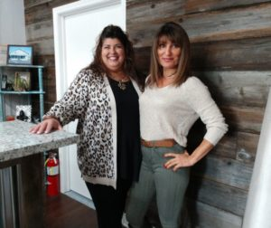Owner Lynn Shaffer and sales clerk Julie Deidrick. Photos by Carmel de Bertaut.