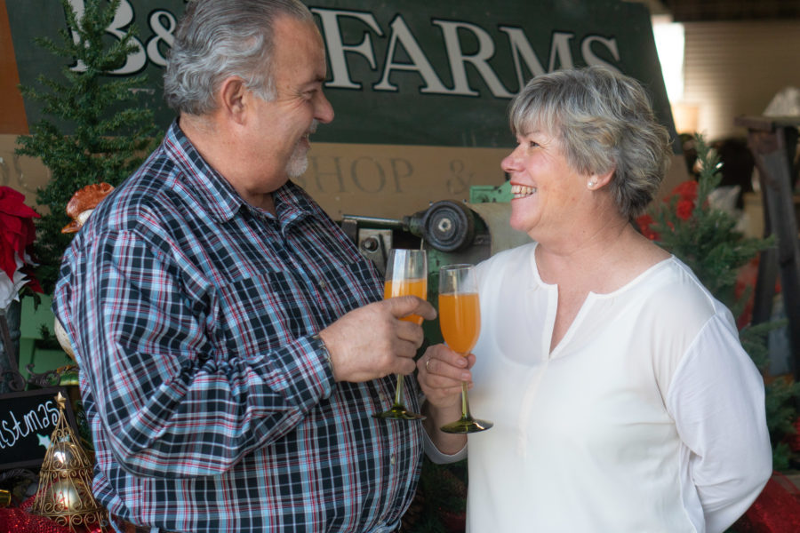 Jim and Mari Rossi of B&R Farms. Photo provided.