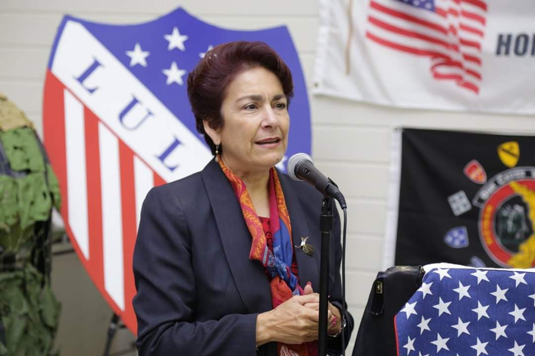 Senator Anna Caballero. Photo provided by Veronica Lezama.