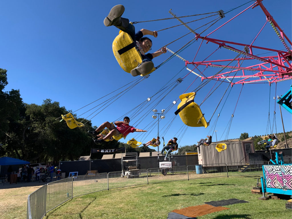 Chamberlain's kids enjoying the San Benito County Fair. Photos provided by Chamberlain's.