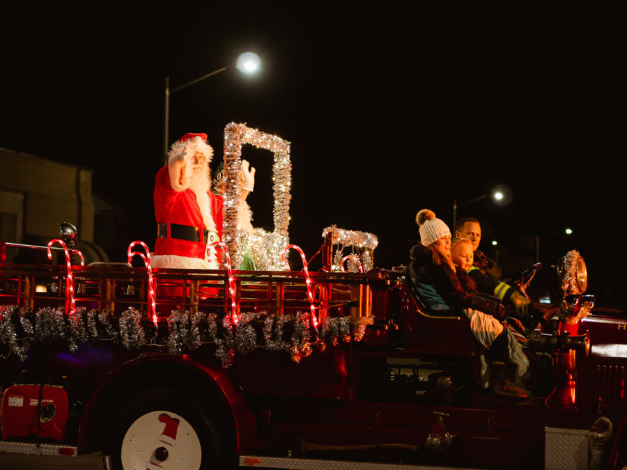 A float in the 2019 Lights On Parade. File photo by Heather Graham.