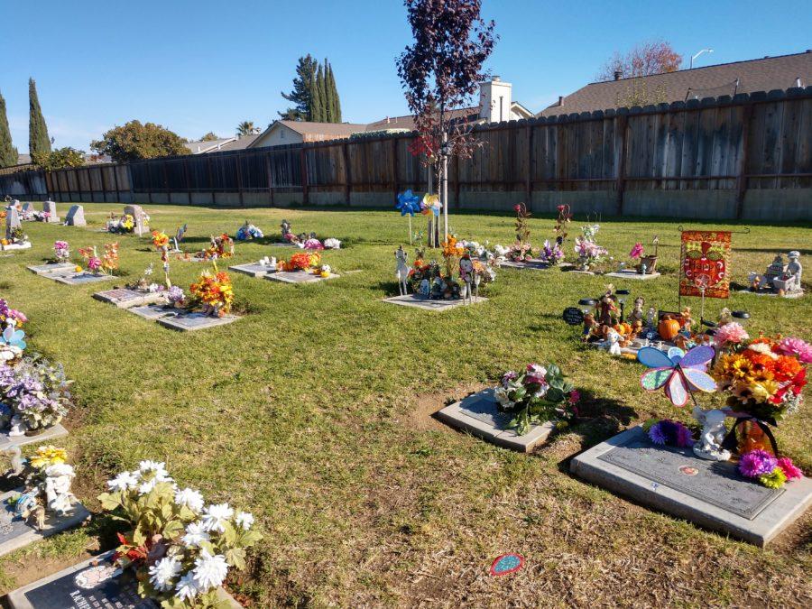 Where children rest in Calvary.